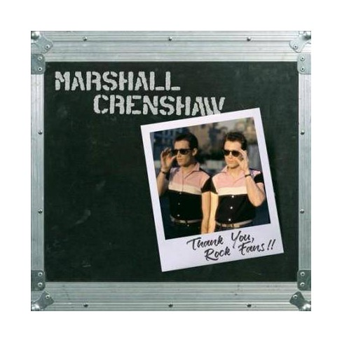 Marshall Crenshaw - Thank You, Rock Fans!! (Vinyl) - image 1 of 1