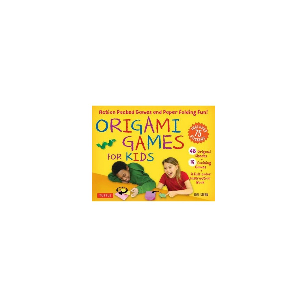 Origami Games for Kids : Action Packed Games and Paper Folding Fun! 15 Exciting Games - Unbnd/Pap