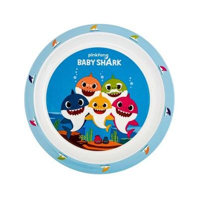 "Pinkfong Baby Shark 8"" Melamine Kids Dinner Plate"