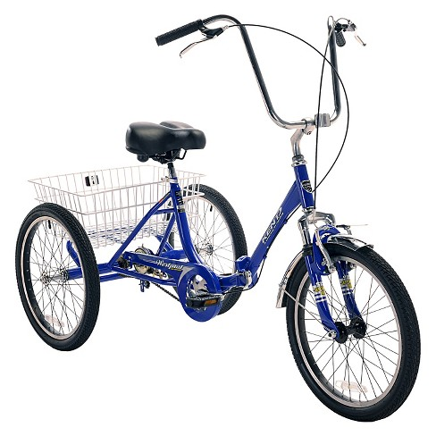 "Kent Adult Westport 20"" Folding Trike - Blue - image 1 of 1"