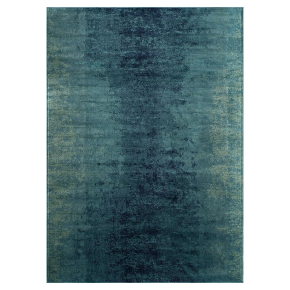 Vintage Rug - Turquoise- (6'7