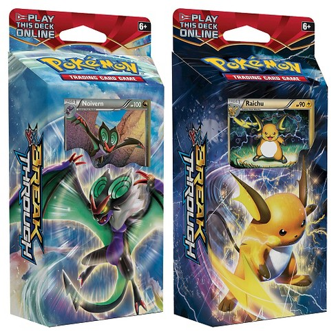 Excell Pokemon Trading Card Game XY Break Through Deck - image 1 of 1