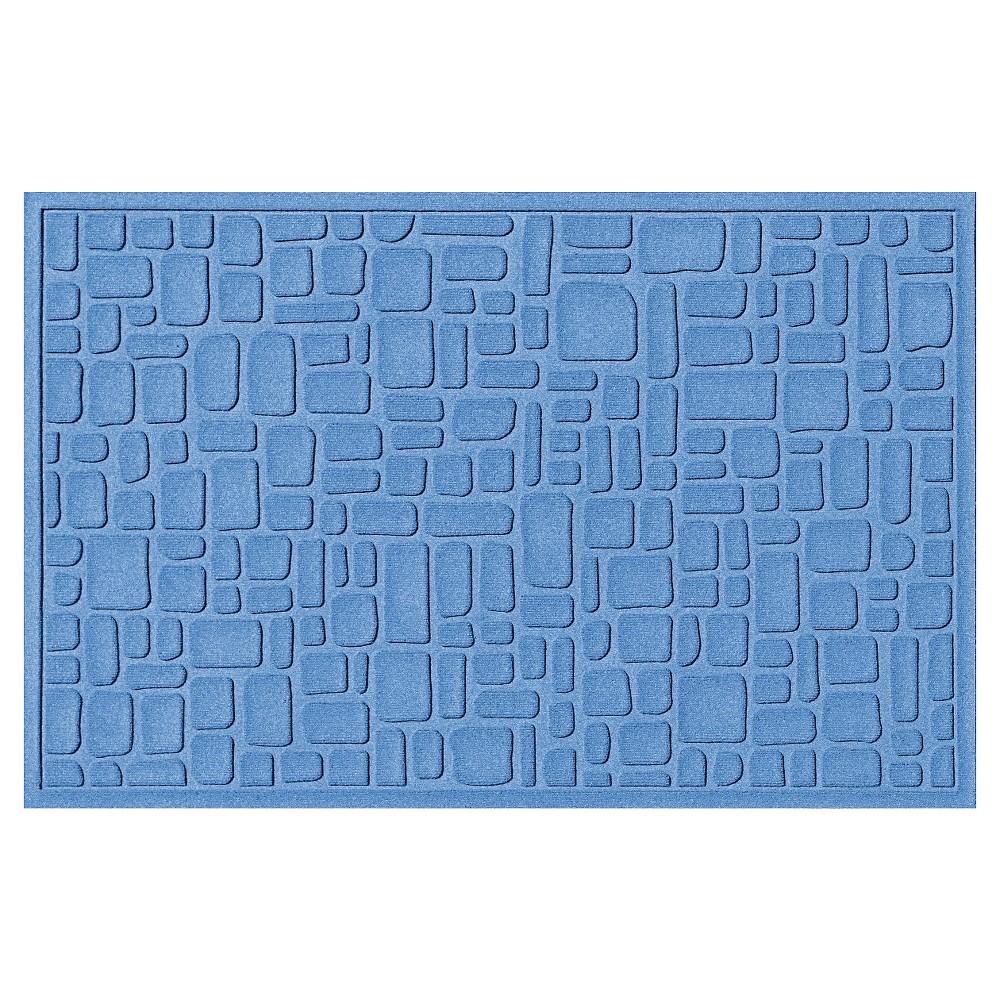 Medium Blue Solid Doormat - (3'X5') - Bungalow Flooring