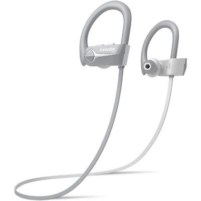 Letsfit Bluetooth Headphones IPX7 Waterproof Wireless Earbuds Bluetooth 5.0 15Hrs Playtime HiFi Stereo - U8L
