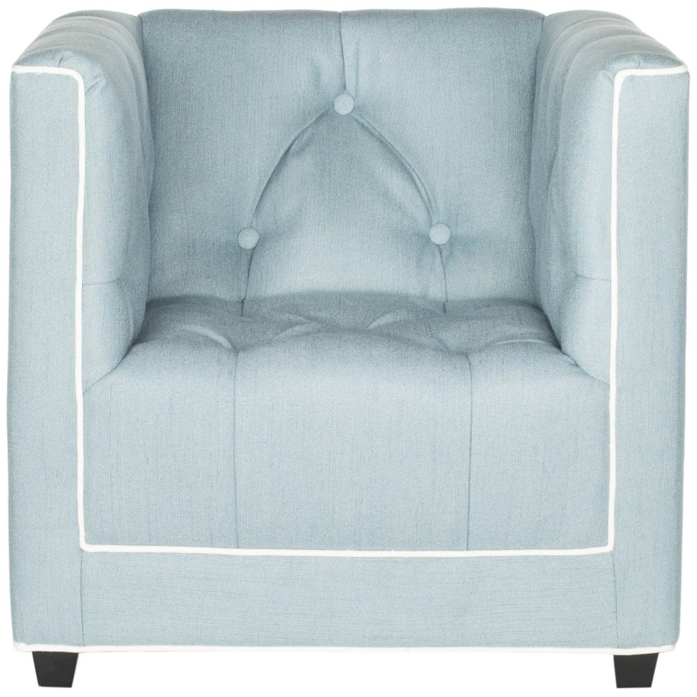 Image of Little Decorator Kids Club Chair Blue - Safavieh