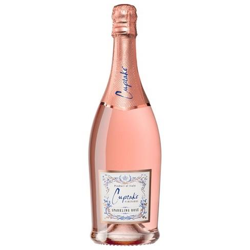 Cupcake Vineyards Sparkling Rose Wine - 750ml Bottle - image 1 of 1