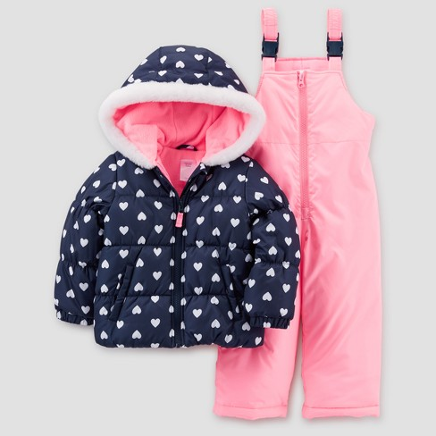 Baby Outerwear Top And Bottom Set - Just One You® made by carter's Pink - image 1 of 2