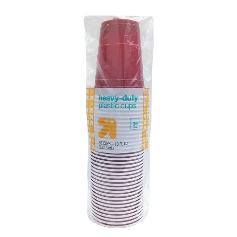 Disposable Red Cups - 18oz - 36ct - Up&Up™ - image 1 of 1