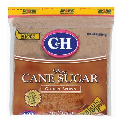 Sugar & Sweetener: C&H Pure Cane Sugar Golden Brown