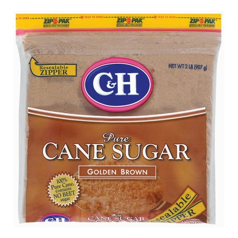 C&H Golden Brown Pure Cane Sugar - 2lbs - image 1 of 4