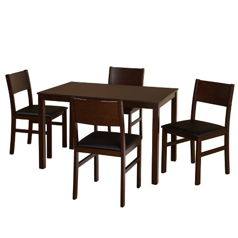 5pc Lucca Dining Set - Buylateral - image 1 of 4
