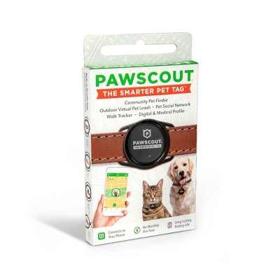 Pawscout The Smarter Pet Tag Electronic Tracking Pet Tag