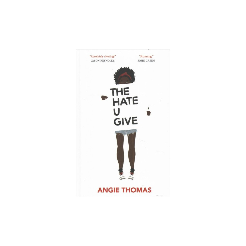 Hate U Give - Large Print by Angie Thomas (Hardcover) Hate U Give - Large Print by Angie Thomas (Hardcover)