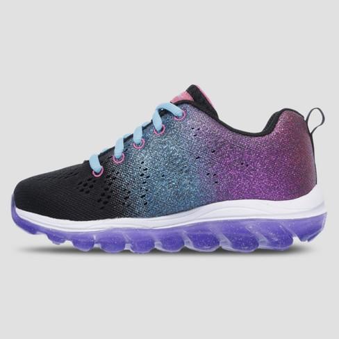 Girls  S Sport By Skechers Genna Athletic Shoes - Black Purple   Target 37ac21144d4d