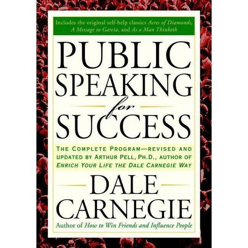 Public Speaking For Success - By Dale Carnegie (Paperback) : Target