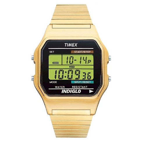 Men's Timex Classic Digital Expansion Band Watch - Gold T786779J - image 1 of 1