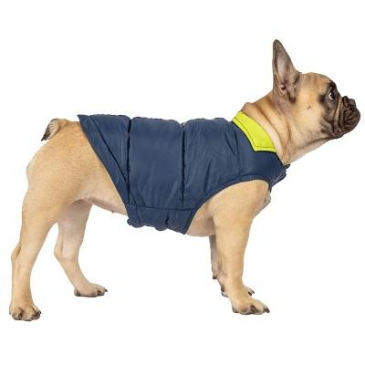 Dog Down Reversible Mock Jacket