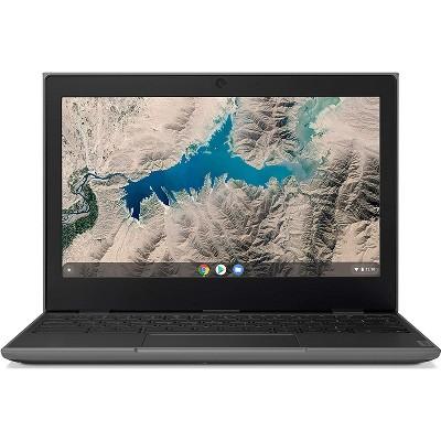 "Lenovo Chromebook 100e (2nd Gen) 81QB000MUS 11.6"" Chromebook - HD - 1366 x 768 - ARM Cortex A72 Quad-core (4 Core) 2.10 GHz - 4 GB RAM - 32 GB Flash Memory - Black"