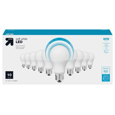 60W 10pk Value pk LED - Up&Up™