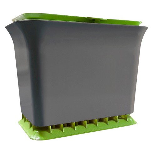 Full Circle Fresh Air Odor-Free Kitchen Compost Collector - 1.5 gallon - image 1 of 3