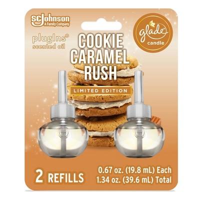 Glade Piso Cookie Caramel Rush Air Freshener Refills - 2ct