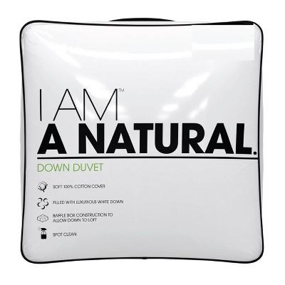 I AM A Natural Down Duvet - King