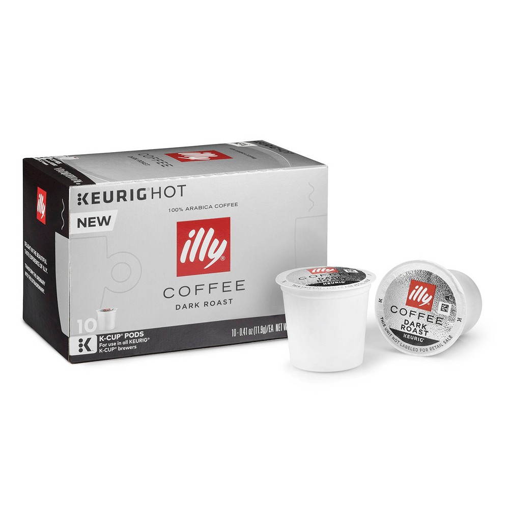illy Dark Roast Coffee - Keurig K-Cup Pods - 10ct