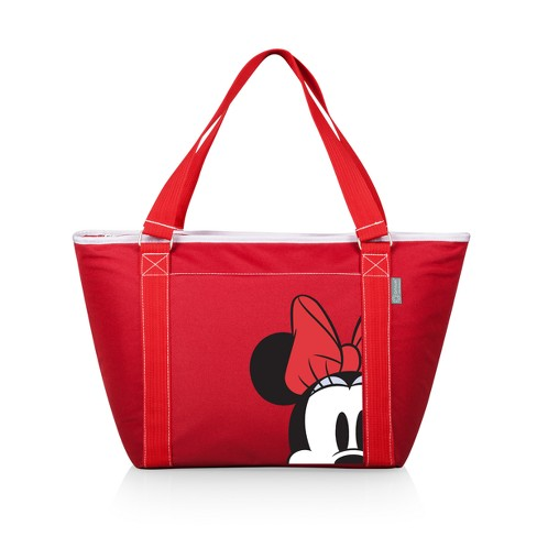 3a840fc4482 Picnic Time Disney Minnie Mouse Topanga 24 Can Cooler Tote - Red   Target