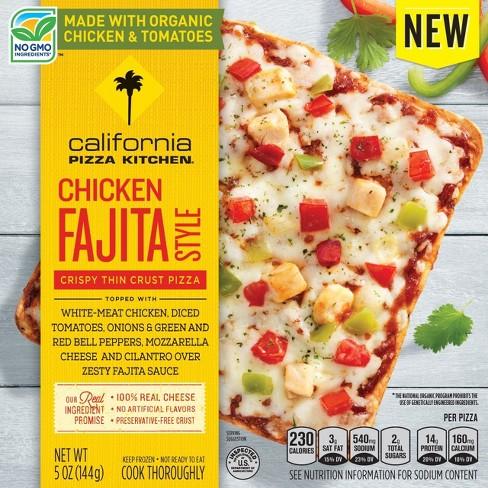California Pizza Kitchen Chicken Fajita Style Thing Crust Frozen Pizza - 5oz - image 1 of 1