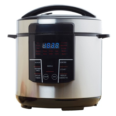 Brentwood 6qt Electric Pressure Cooker