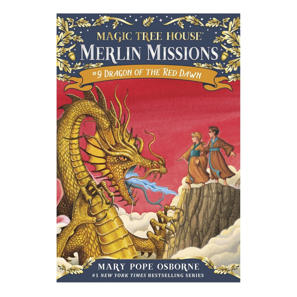 Dragon of the Red Dawn ( Magic Tree House) (Reprint) (Paperback) by Mary Pope Osborne