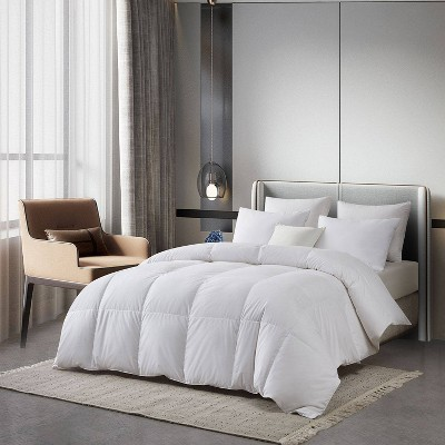 Serta All Seasons Cotton Blend European Down Comforter