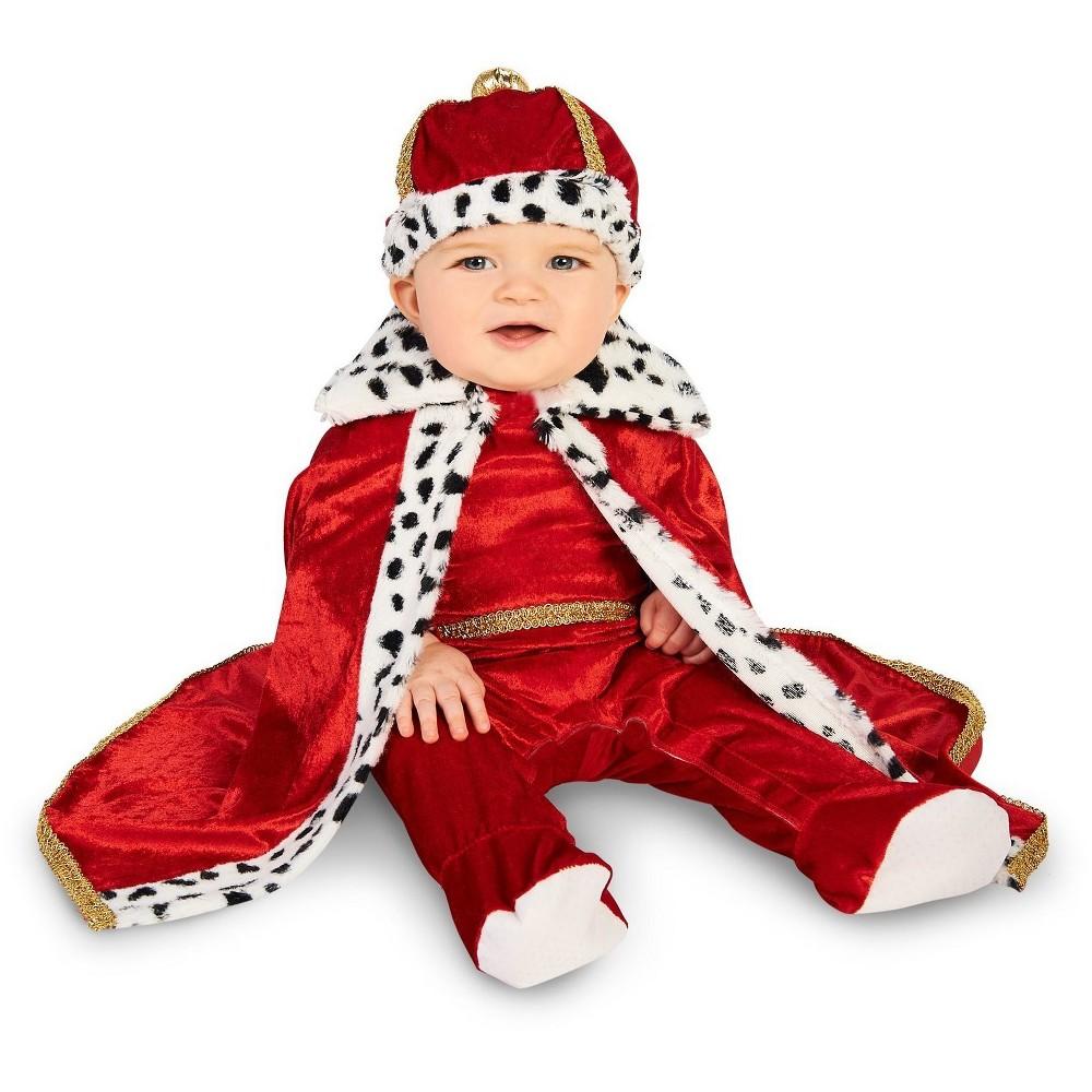 Baby Royal Majesty King Costume 0-6M - BuySeasons, Infant Boy's, Multicolored