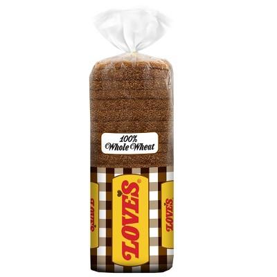 Love's 100% Whole Wheat Round Top Bread - 16oz
