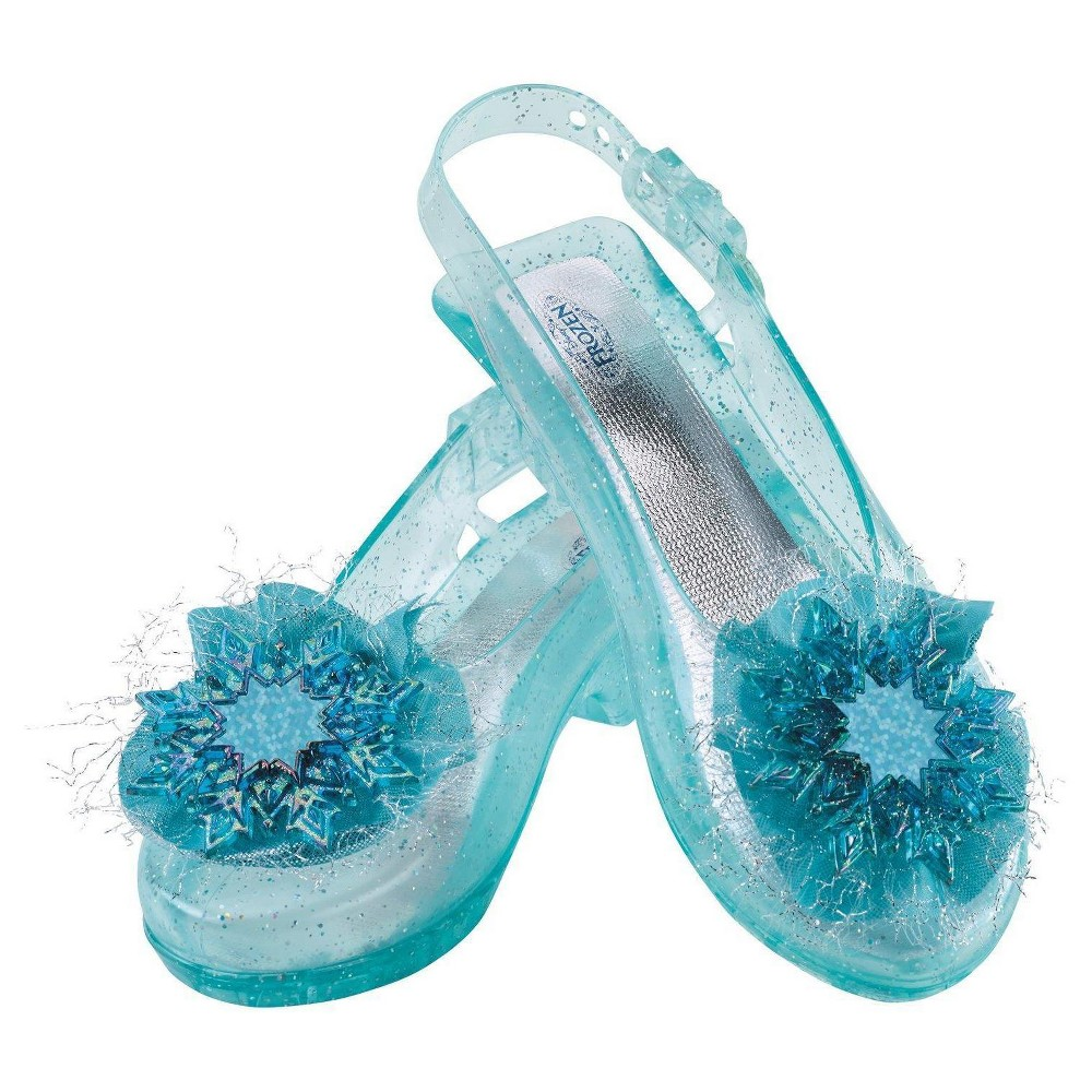 Disney's Frozen Elsa Shoes Accessory Costume, Size: 1, Blue