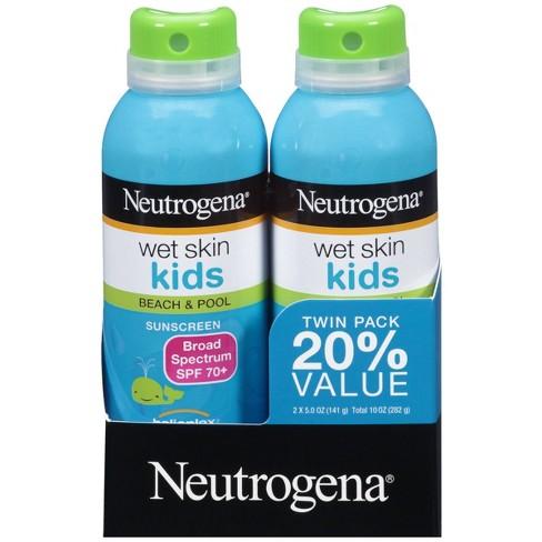 Neutrogena Kids Oil Free Water Resistant Sunscreen Spray Pack - SPF 70 - 5 oz - image 1 of 8