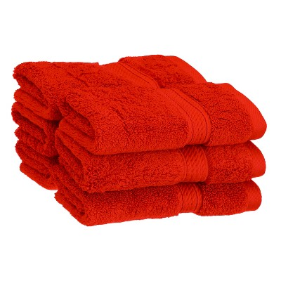 Plush and Absorbent Cotton 6-Piece Face Towel Set - Blue Nile Mills