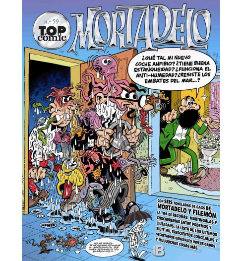 Mortadelo 59 (Paperback) (Francisco Ibanez) - image 1 of 1