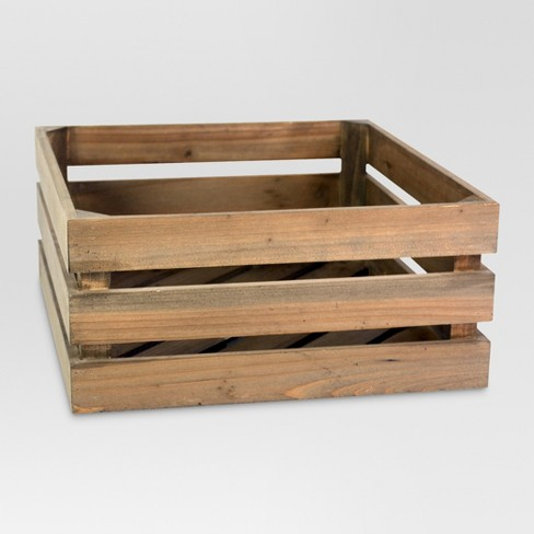Wood Half Milk Crate Threshold