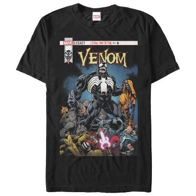 Men's Marvel Venom Lethal Protector Pile T-Shirt