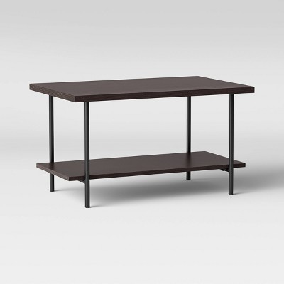 Wood and Metal Coffee Table Espresso - Room Essentials™
