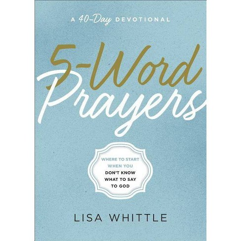 5-Word Prayers - by  Lisa Whittle (Paperback) - image 1 of 1