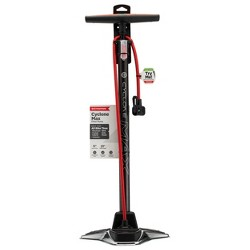 Schwinn Cyclone Max Refresh Floor Pump - Silver