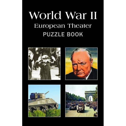Wwii: European Theater Puzzle Book - (Paperback) - image 1 of 1