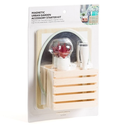U-Brands Magnetic Locker Accessory Set - Urban Garden - image 1 of 3