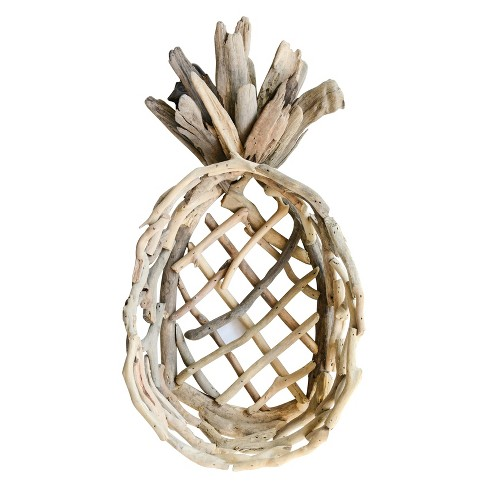 Decorative Tray Pineapple - Beige - image 1 of 3