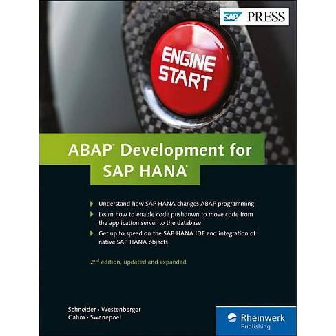 ABAP Development for SAP Hana - 2 Edition (Hardcover) - image 1 of 1