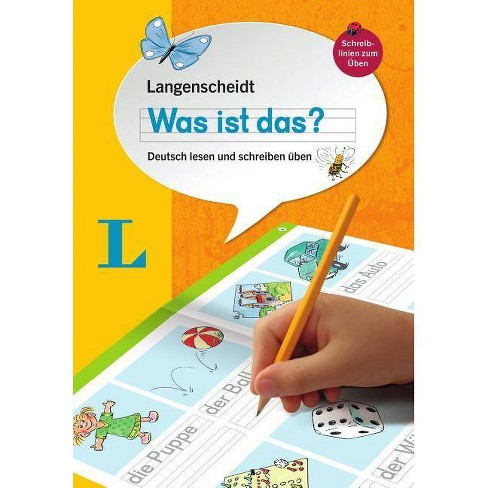 Langenscheidt Was Ist Das? - Write and Read Your First German Words (German Edition) - (Paperback) - image 1 of 1