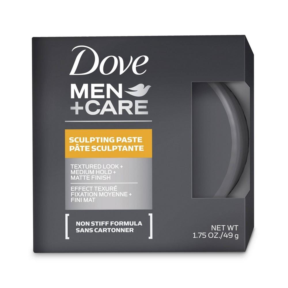 Image of Dove Men+Care Textured Look + Medium Hold + Matte Finish Sculpting Hair Paste Gel - 1.75oz