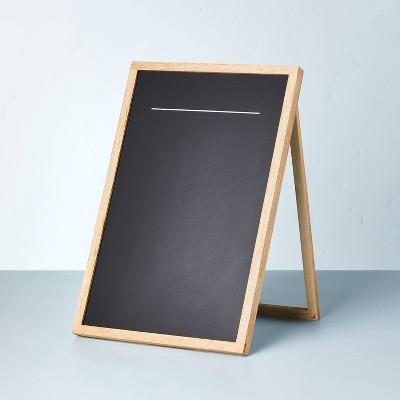 """12"""" x 18"""" Hinge Stand Black Chalkboard - Hearth & Hand™ with Magnolia"""